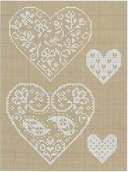 Heart Cross Stitch Chart  No Link  Criss Cross Stitching