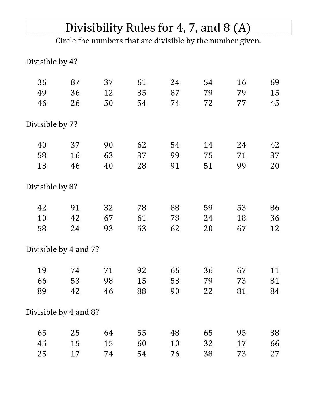 2 Digit Multiplication Worksheet Grade 5
