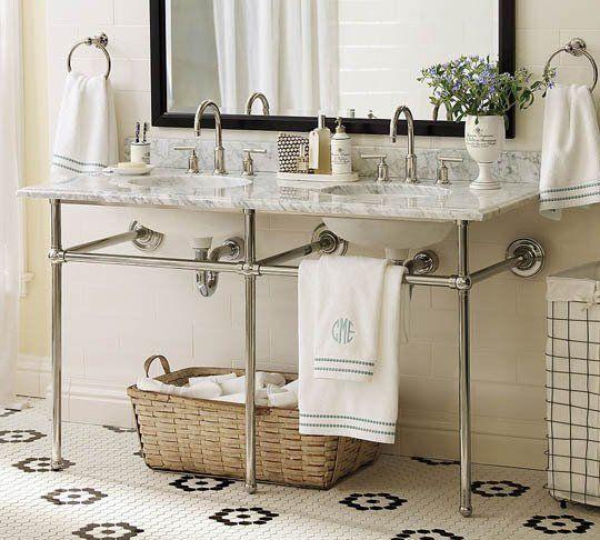 Roundup Stylish Open Bathroom Vanities