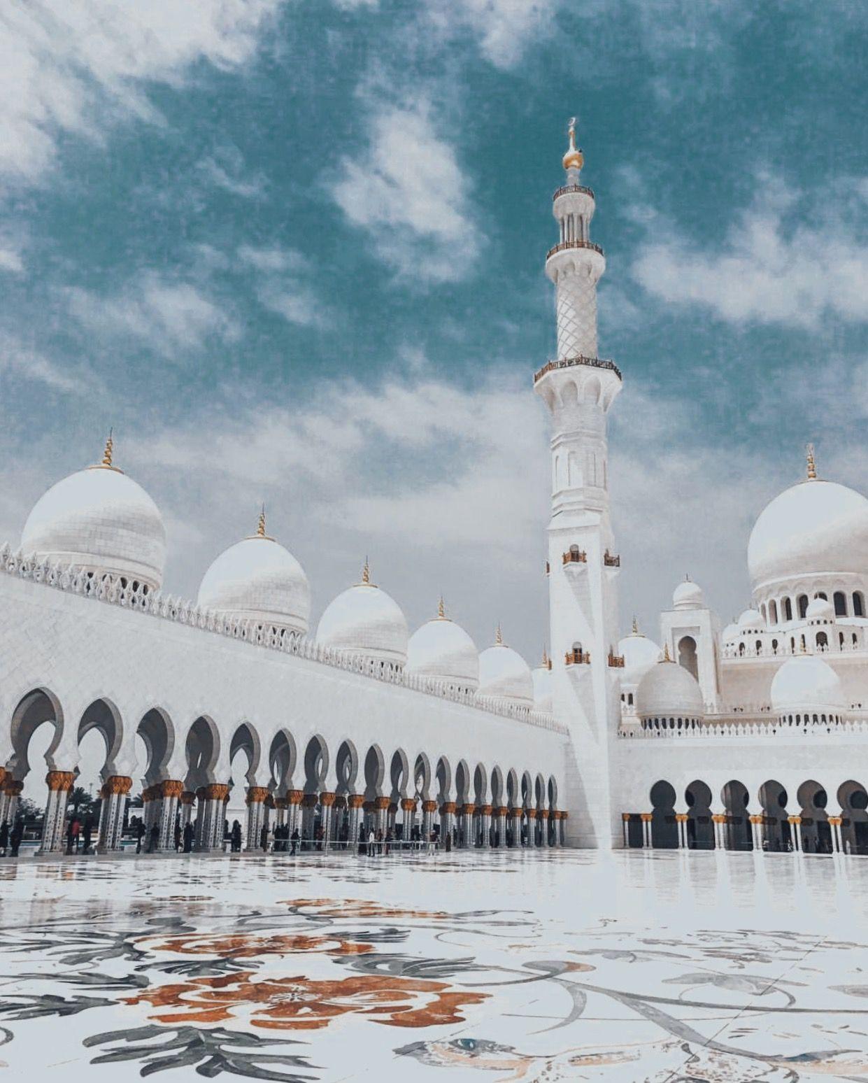Mosque De Abu Dhabi Camilacoelho Mosquee Voyage