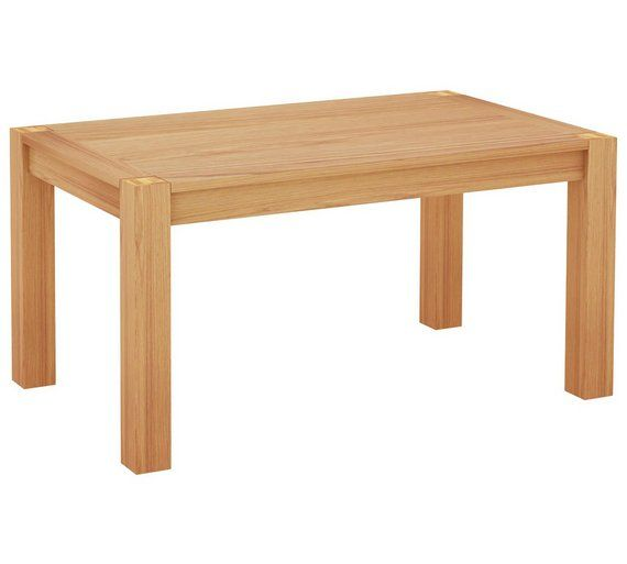 Oak Argos Home Wood Effect 4 Seater Dining Table