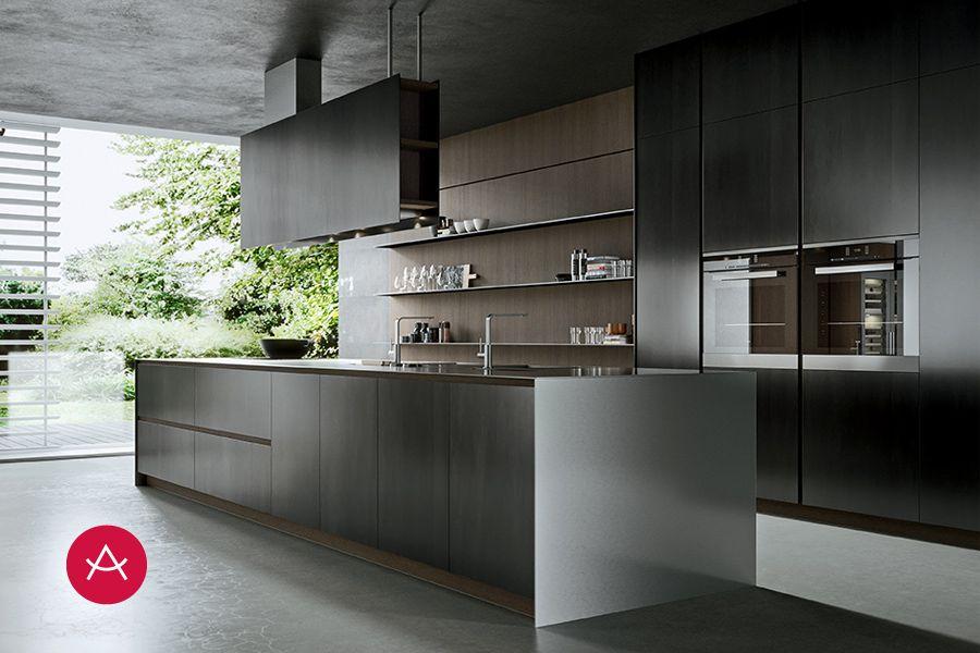 Ak project de arrital cocinas modernas kitchen cabinets kitchen y professional kitchen - Arrital cucine rivenditori ...