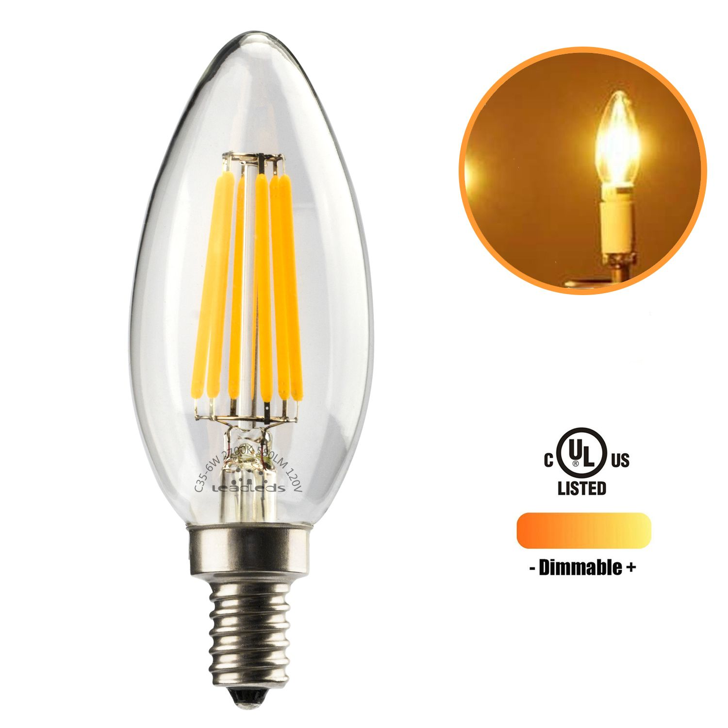 christmas day is around the cornor 6w candelabra light bulb better for decoration use