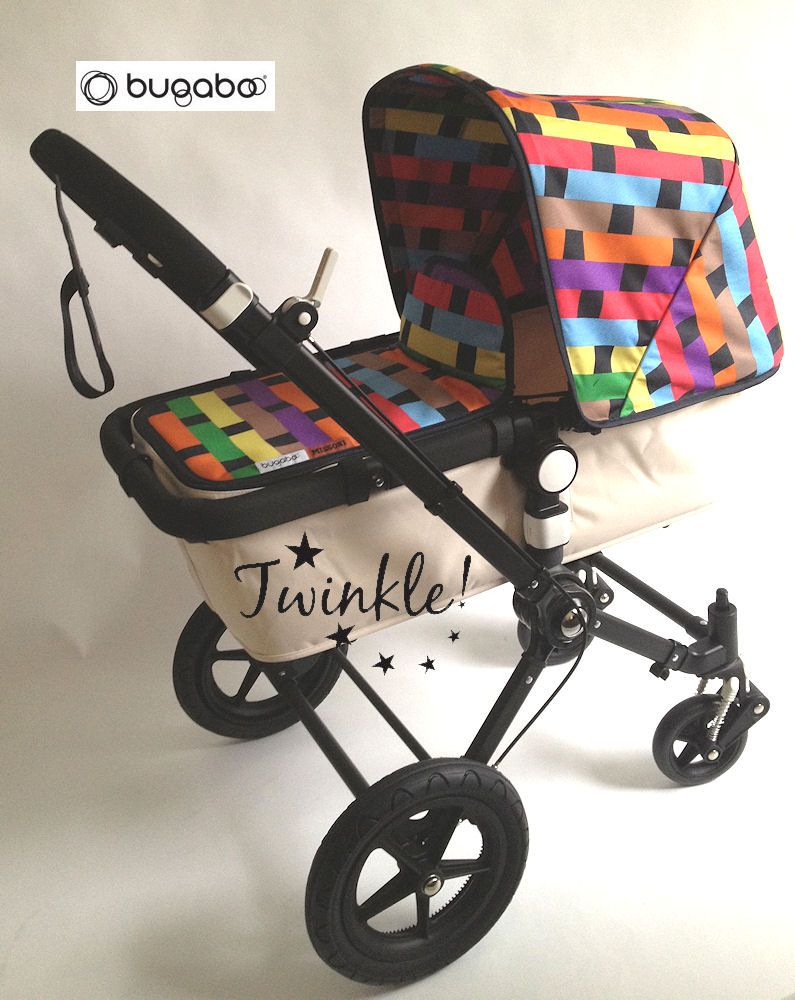 Bugaboo Cameleon Off White Edition with Tailored Fabric