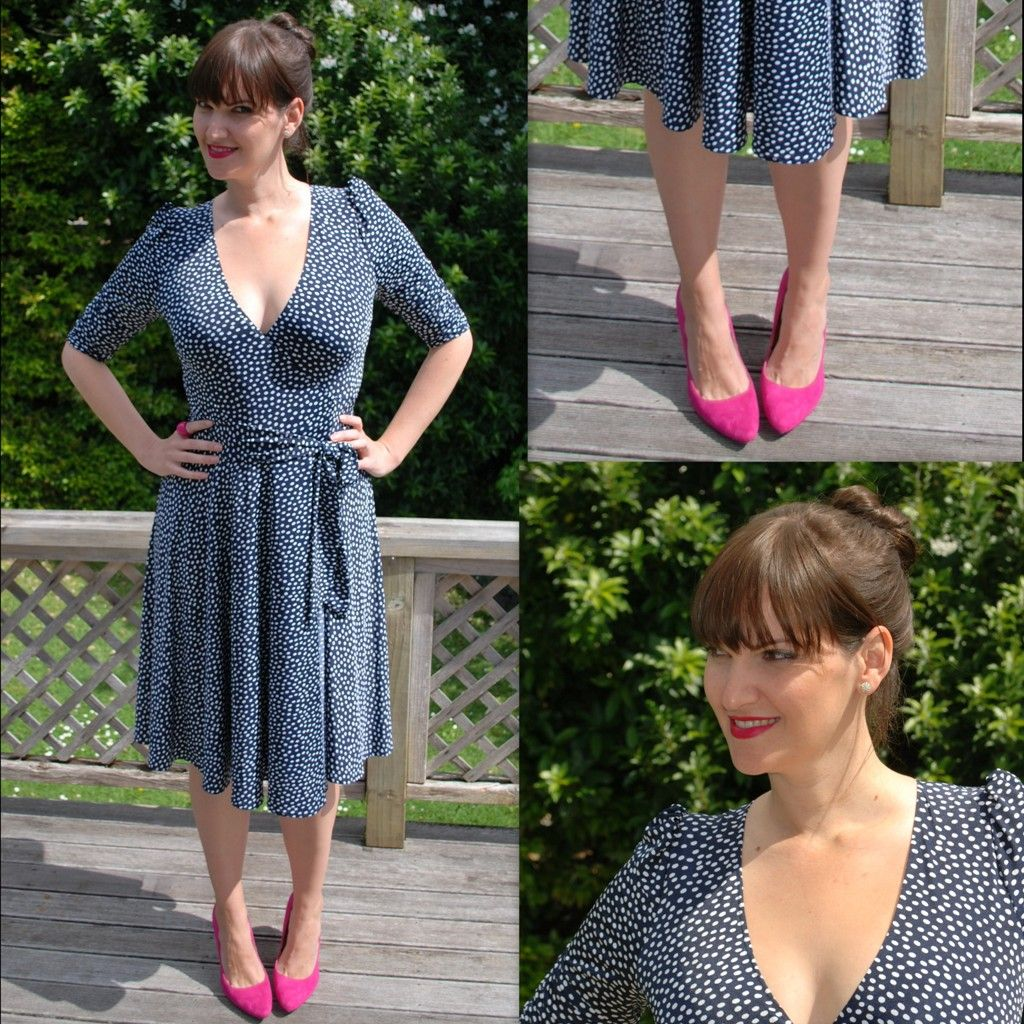 The Sacha Drake Wrap Dress - you can wear this dress 3 different ways