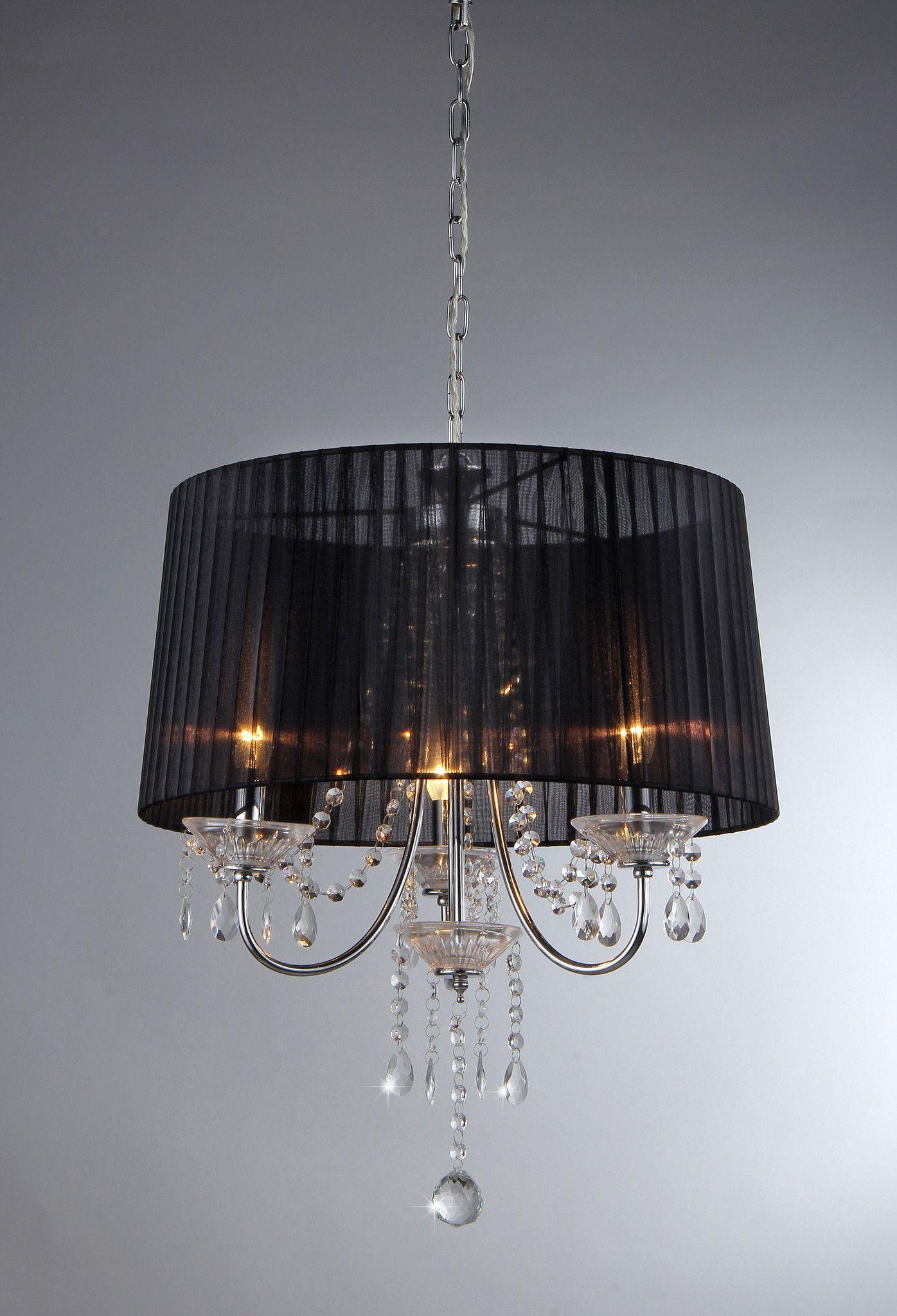 Crystal black silk chandelier clairage pinterest black silk crystal black silk chandelier arubaitofo Gallery