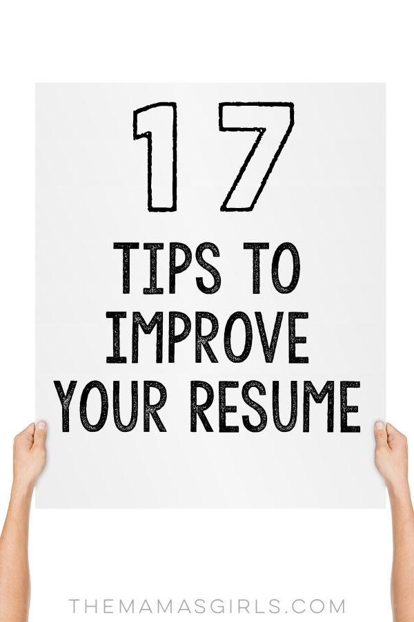 17 Tips to Improve Your Resume | College, Life hacks and Shower cleaning