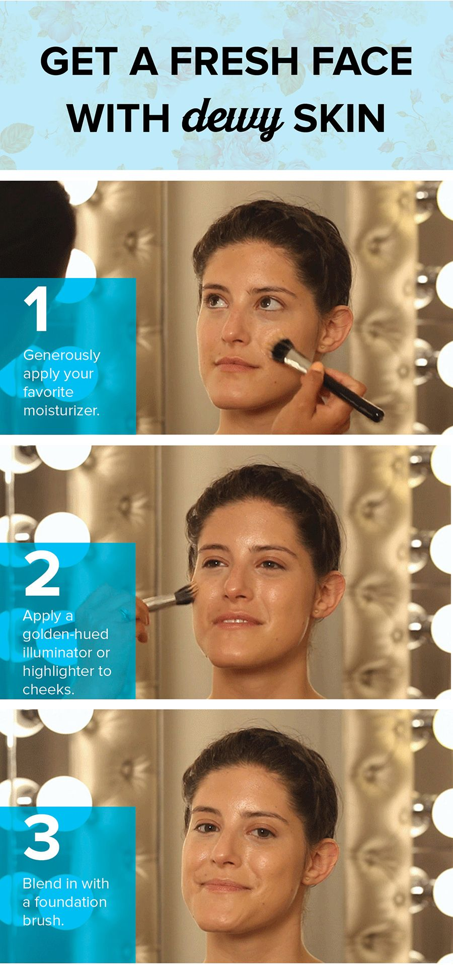 3 simple steps to an instantly younger-looking face