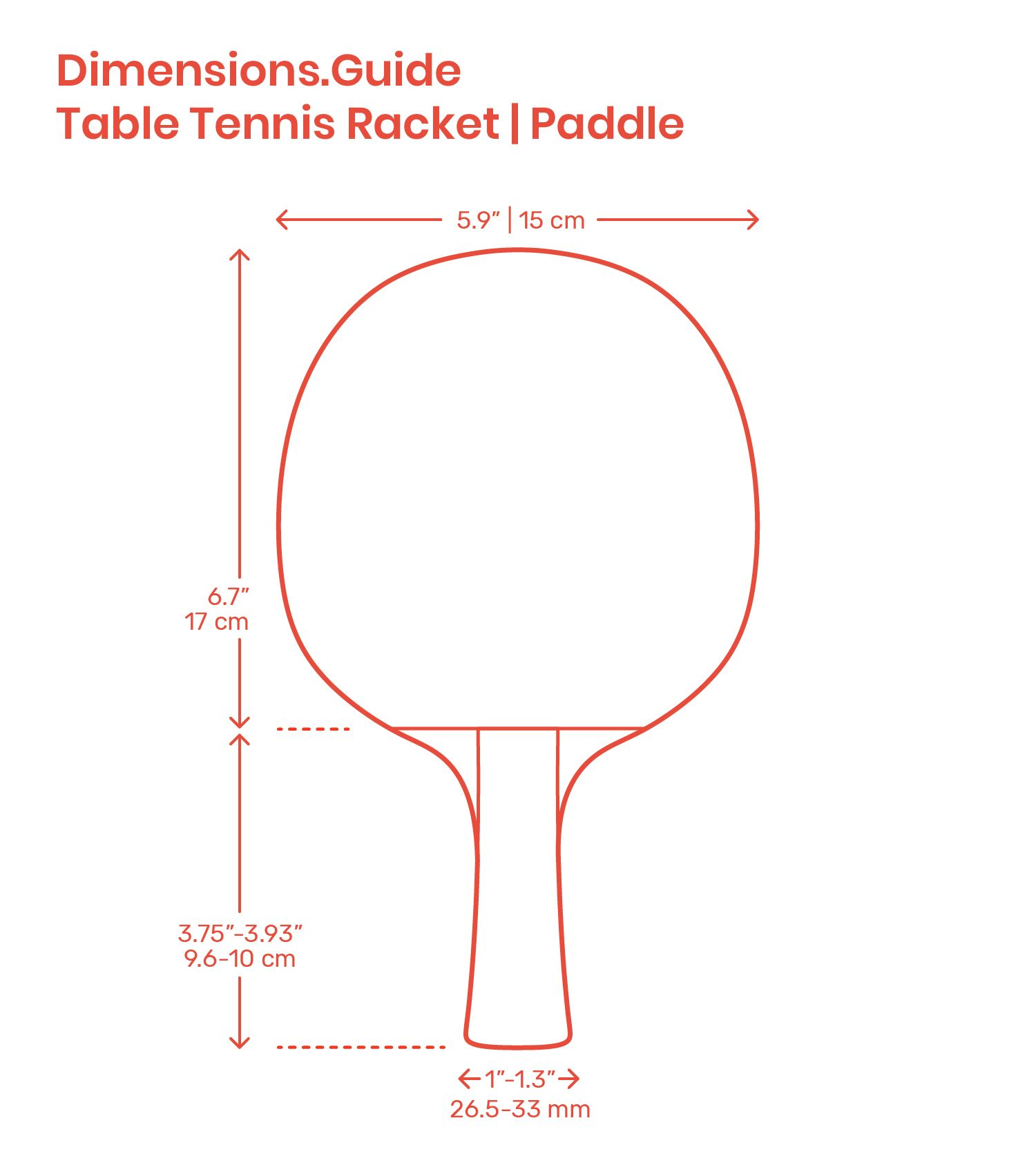 Table Tennis Ping Pong Paddles Are