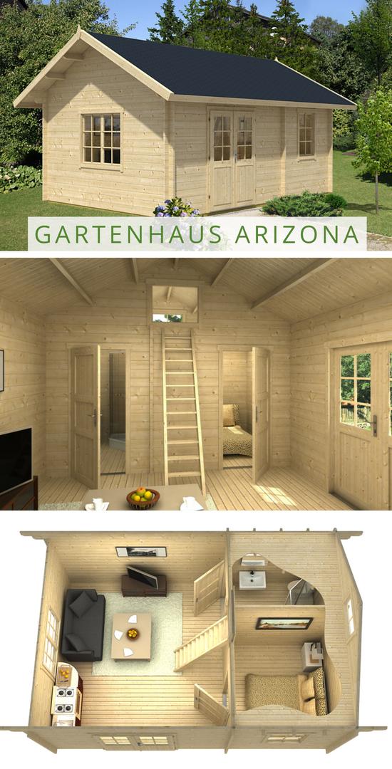 Gartenund Freizeithaus Arizona ISO in 2020 Schlafboden