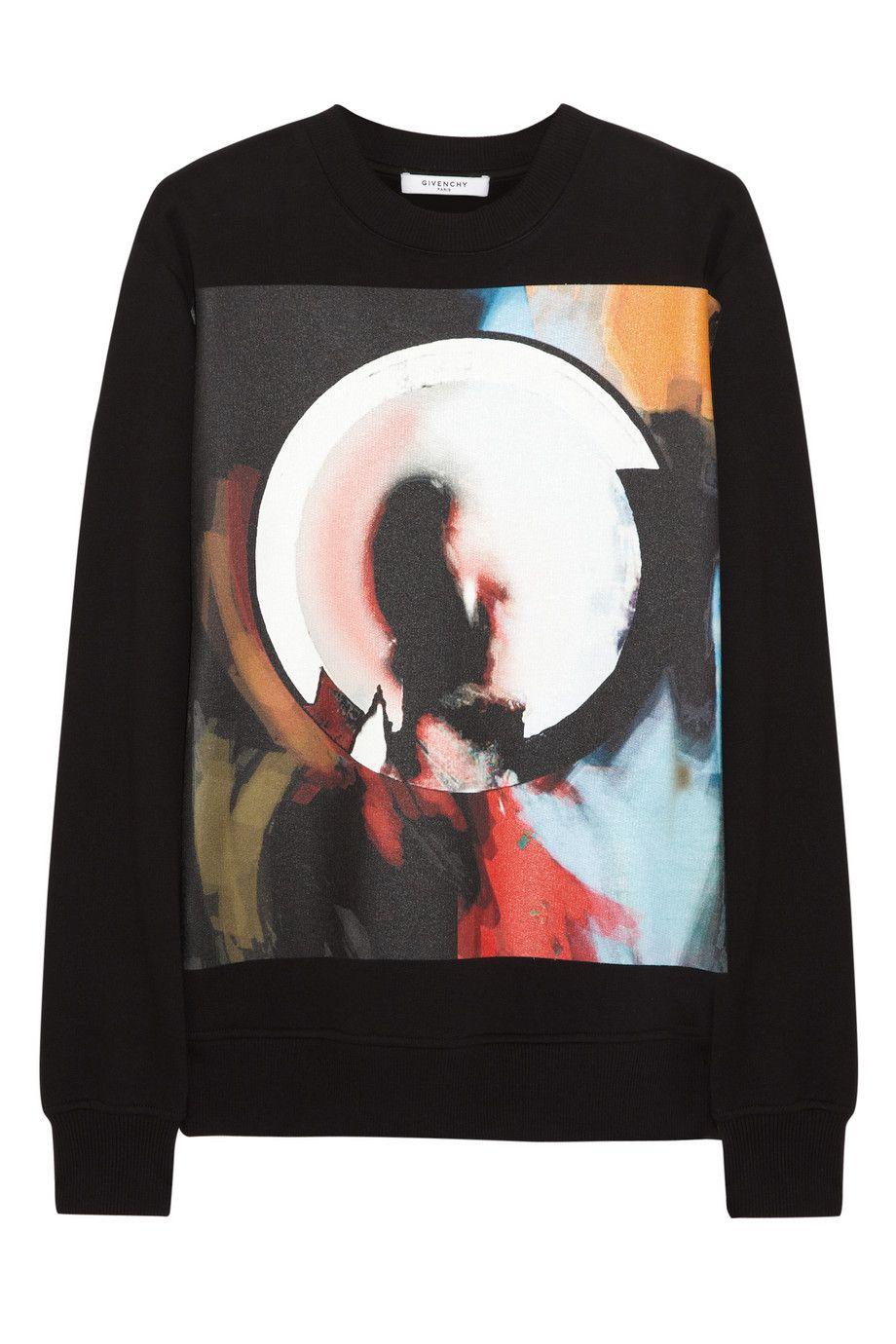 Givenchy Madonna Halo printed cotton-jersey sweatshirt NET-A-PORTER.COM