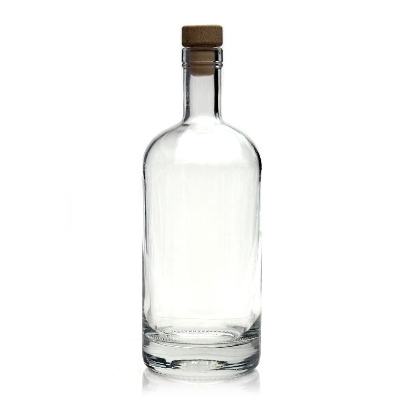 Glass bottle from the series linea uno at a very - What to put in glass bottles ...
