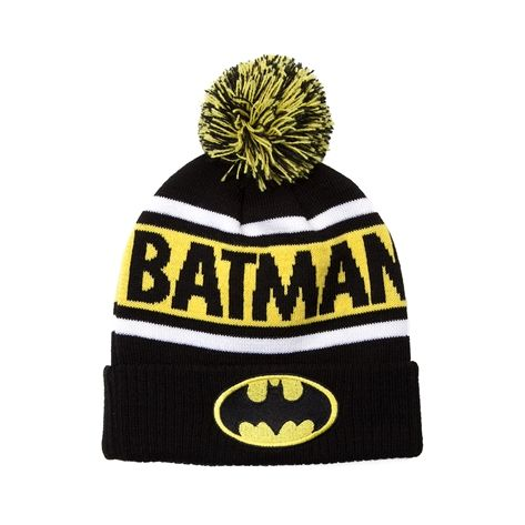 Shop for Batman Beanie in Black Yellow at Journeys Shoes.  82f4ca429d8