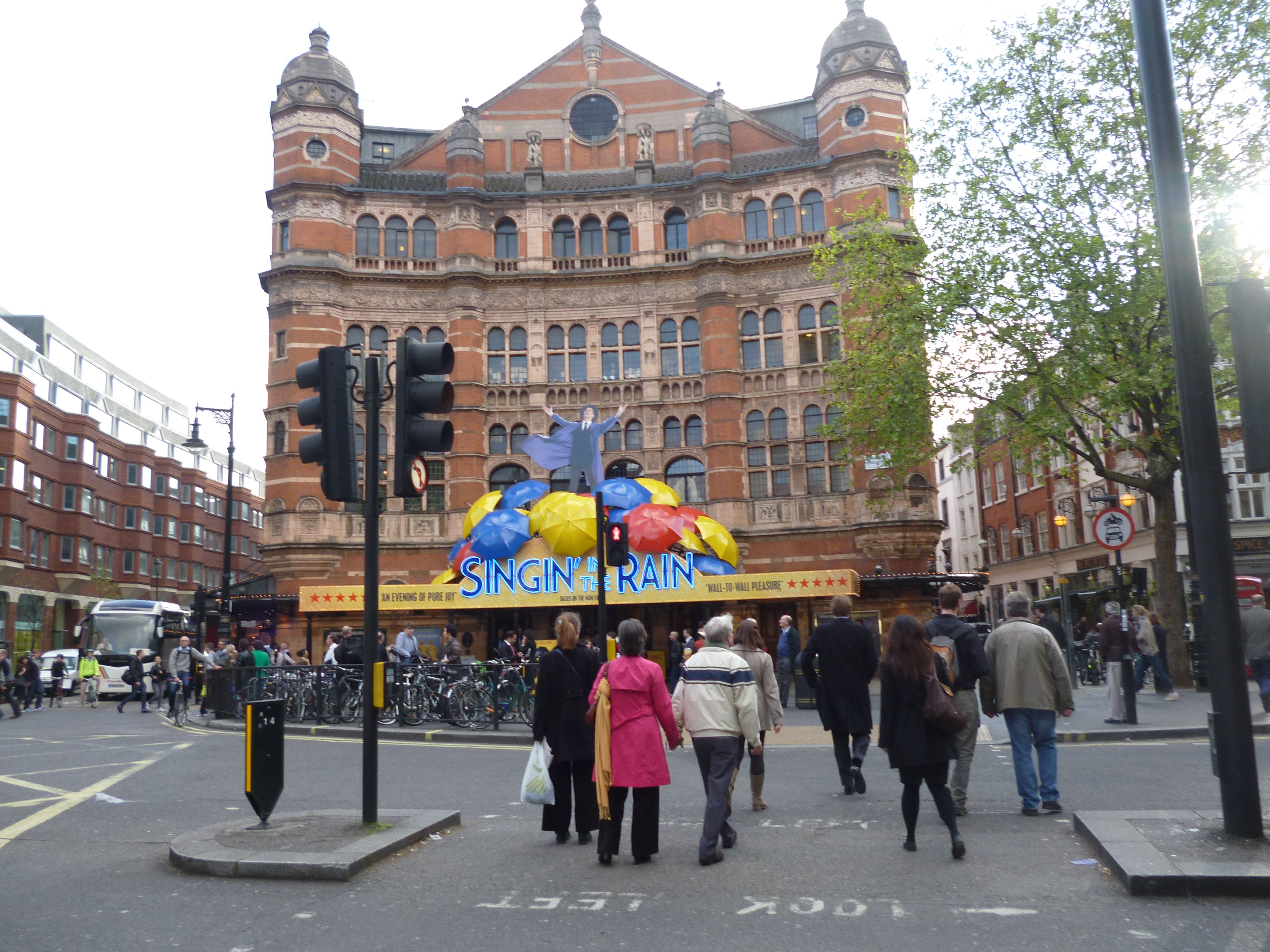 The Palace Theatre by day The home of Singin In The Rain