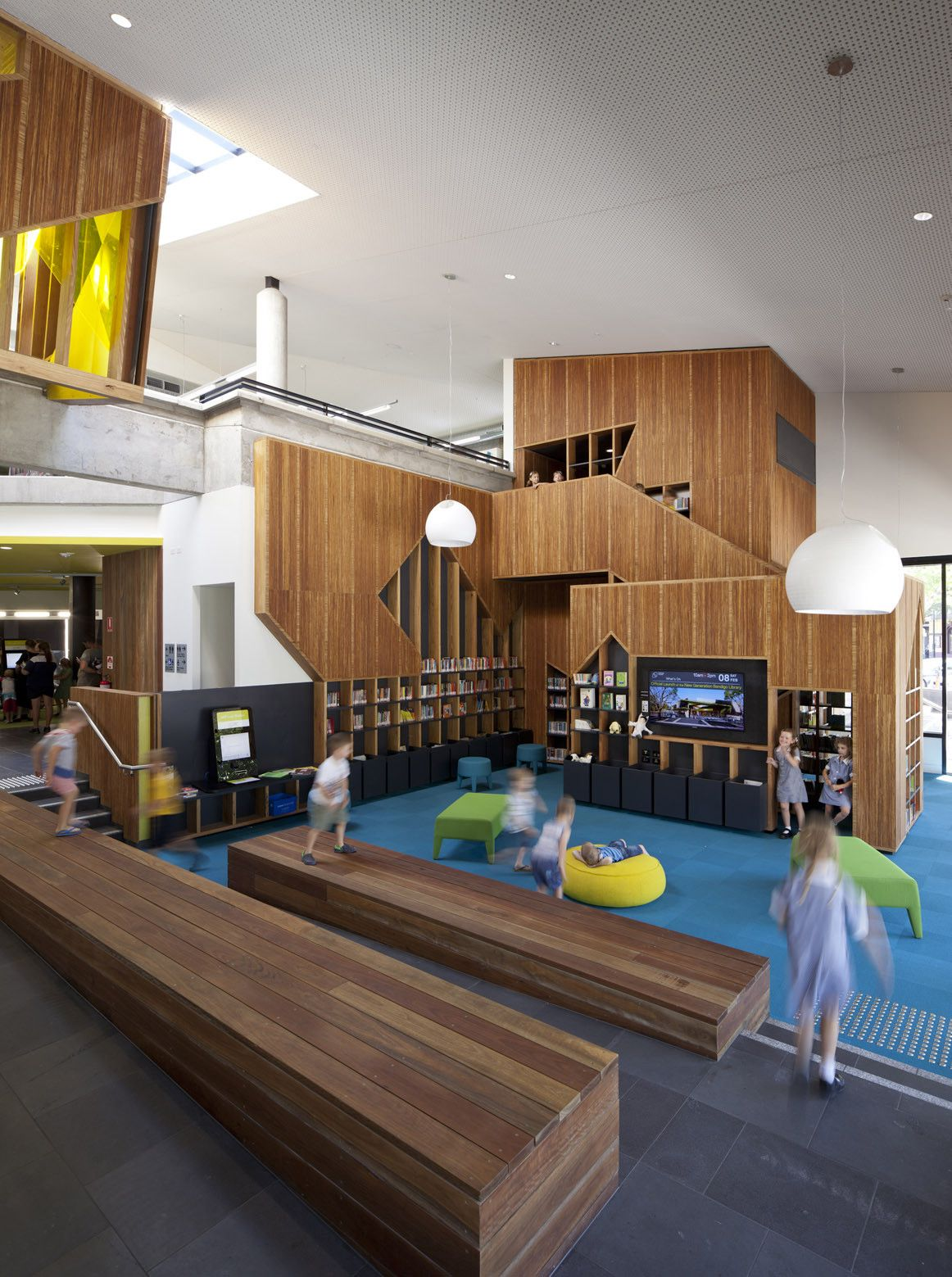 Gallery Of Bendigo Library Mgs Architects 12 Education