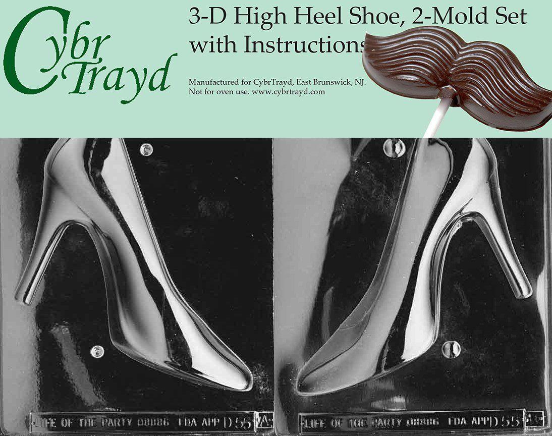 Amazoncom Cybrtrayd 3 D High Heel Shoe Chocolate Mold Kit