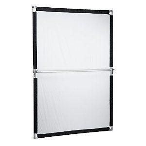 Amazon.com : Pro Studio Solutions 140x200cm Collapsible Sun Scrim, Diffuse & Silver / White Reflector Kit with Handle, Bag : Camera & Photo