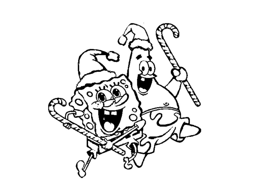 Spongebob Christmas Coloring Pages Printable Spongebob Christmas Merry Christmas Coloring Pages Christmas Colors