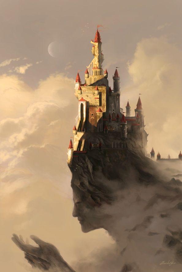 woman castle