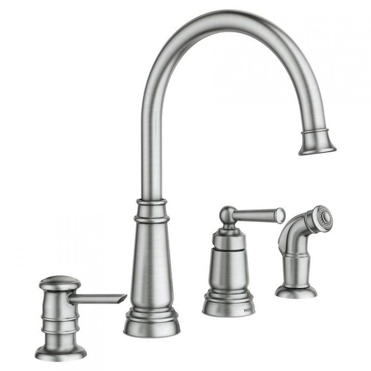 3 Piece Kitchen Faucet Remodeled Ideas You Searched For Home Furniture One Silver Centerset Two Handle Pull Out Spray With Regard To Moen Faucets Hole