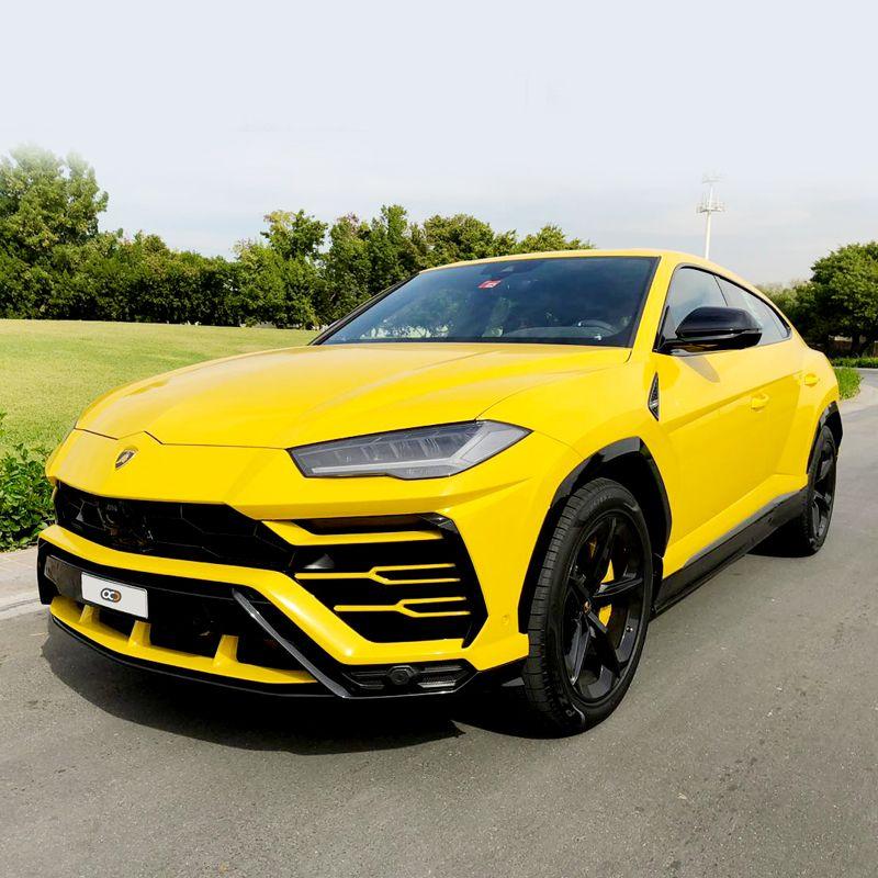 Drive The 2018 Lamborghini Urus In Dubai For Only Aed 7800 Day Rental Cost Includes Comprehensive Insurance And 250km Mileage Free Deliver Arabalar