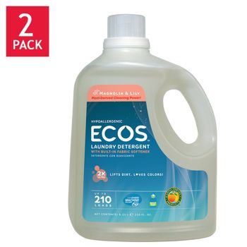 Earth Friendly Products Ecos Liquid Laundry Detergent Magnolia