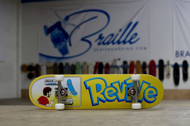 Aaron Kyro Battle Complete | Braille Skate Shop | Complete