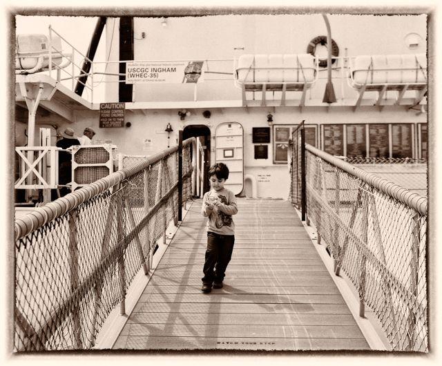 On a boat   Fuji GF670 (film)   #jhunterphoto