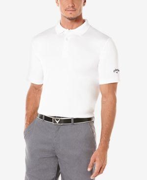 Callaway Big and Tall Performance OptiDri Striped Polo Shirt