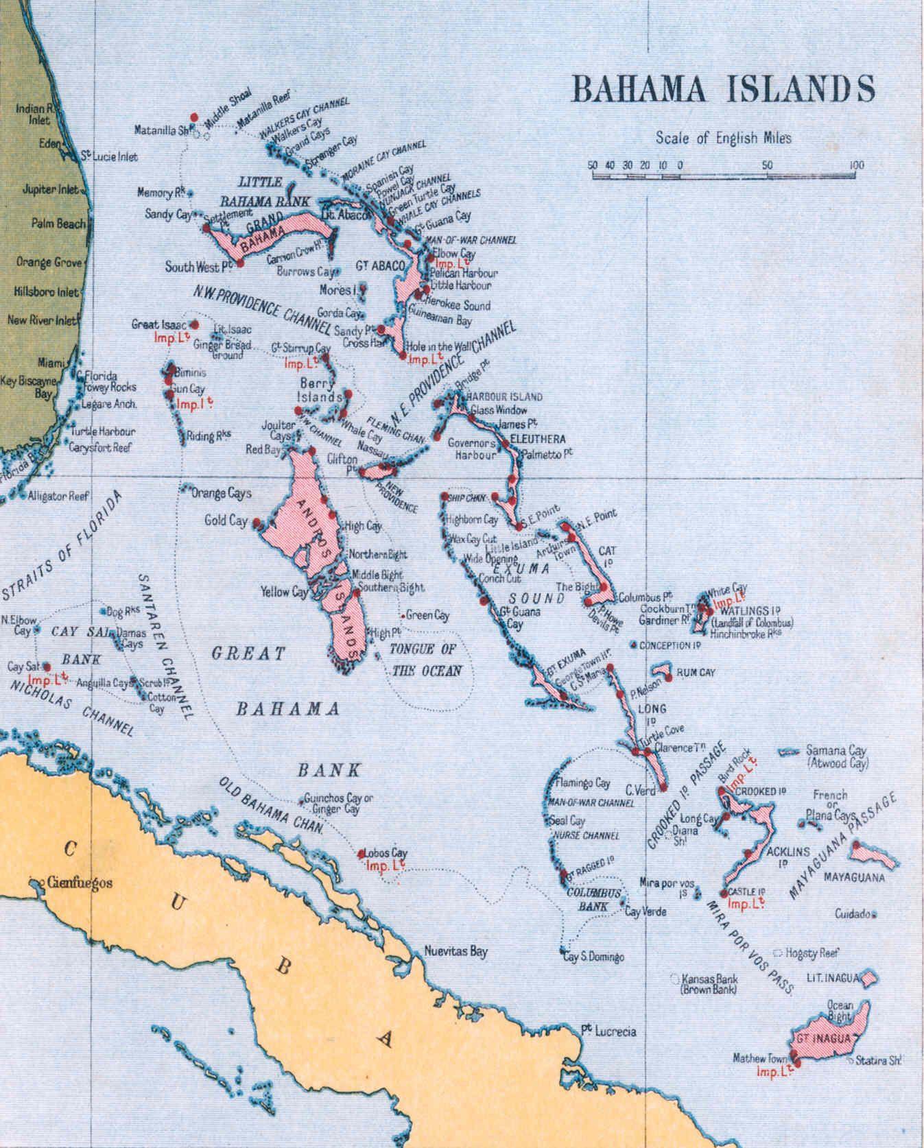 island-pres-des-bahamas-carte