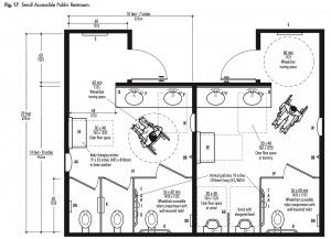 Typical Restroom Diagram In 2019 Bathroom Layout Plans