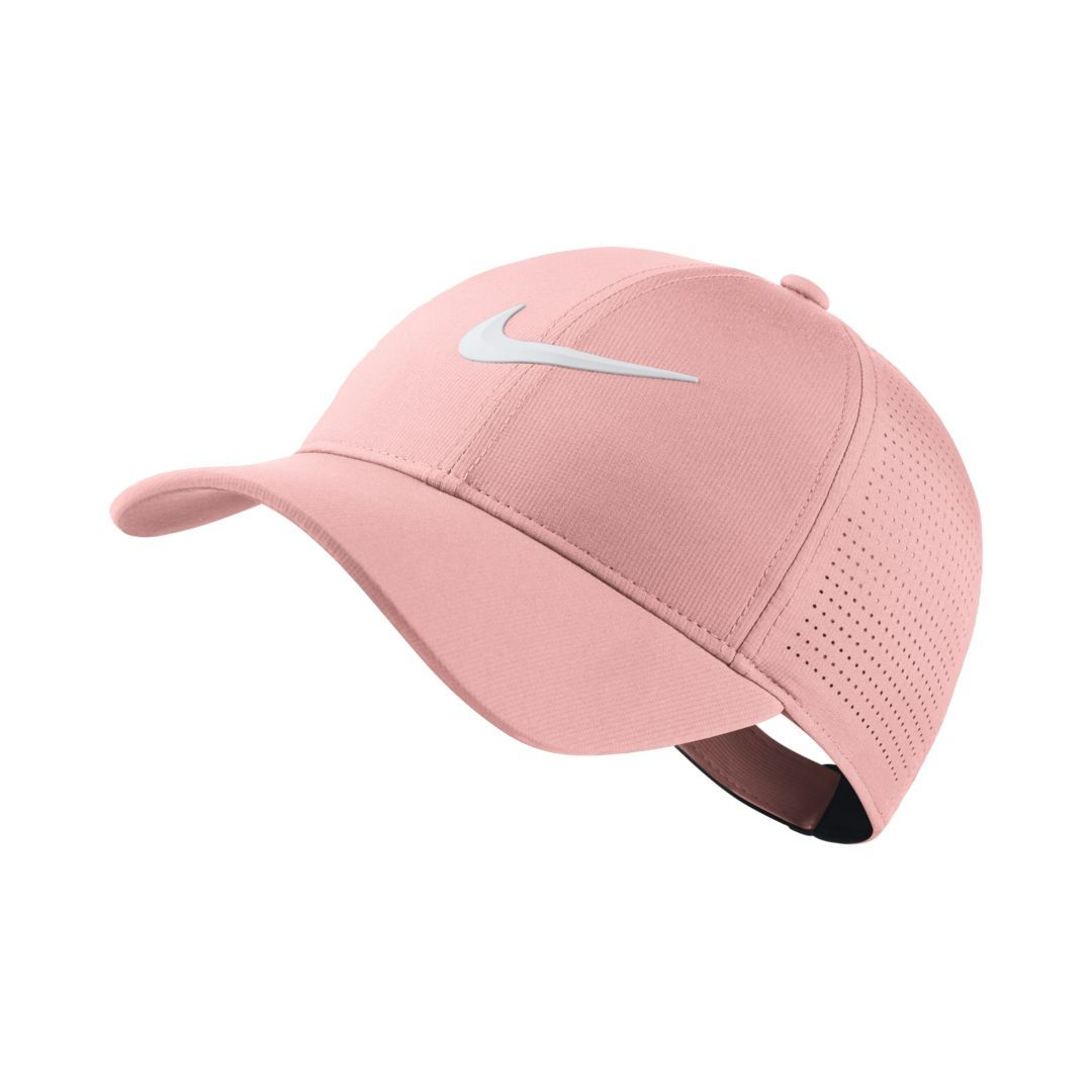e2416febf7d Nike AeroBill Legacy 91 Adjustable Golf Hat Size ONE SIZE (Storm Pink)
