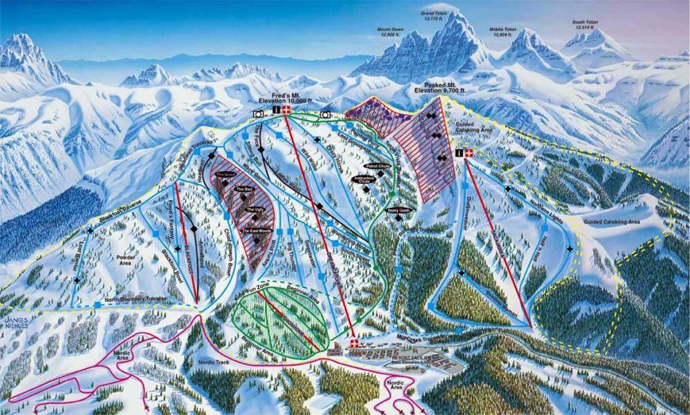 The 7 Best Family Ski Resorts In The U S Famous Wonders Grand Targhee Grand Targhee Resort Best Family Ski Resorts