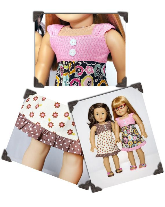 PDF Sewing Pattern for 18 Inch American Girl Doll Clothes - Sweet ...
