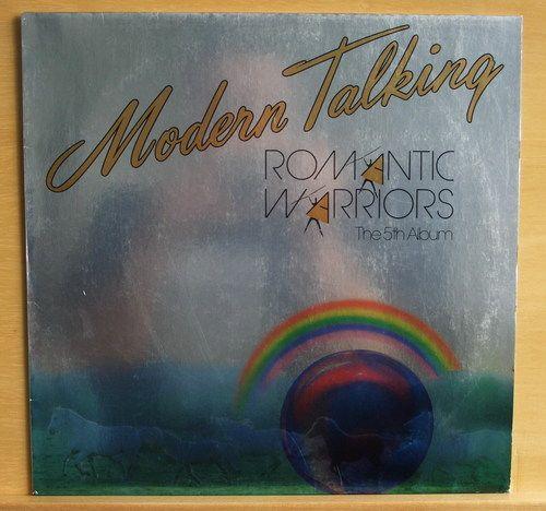 MODERN TALKING - Romantic Warriors - near mint nm - Vinyl LP - Disco - Top Rar