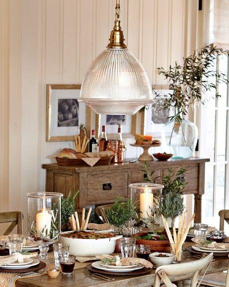 Garey Pendant Lamp, Antique Brass