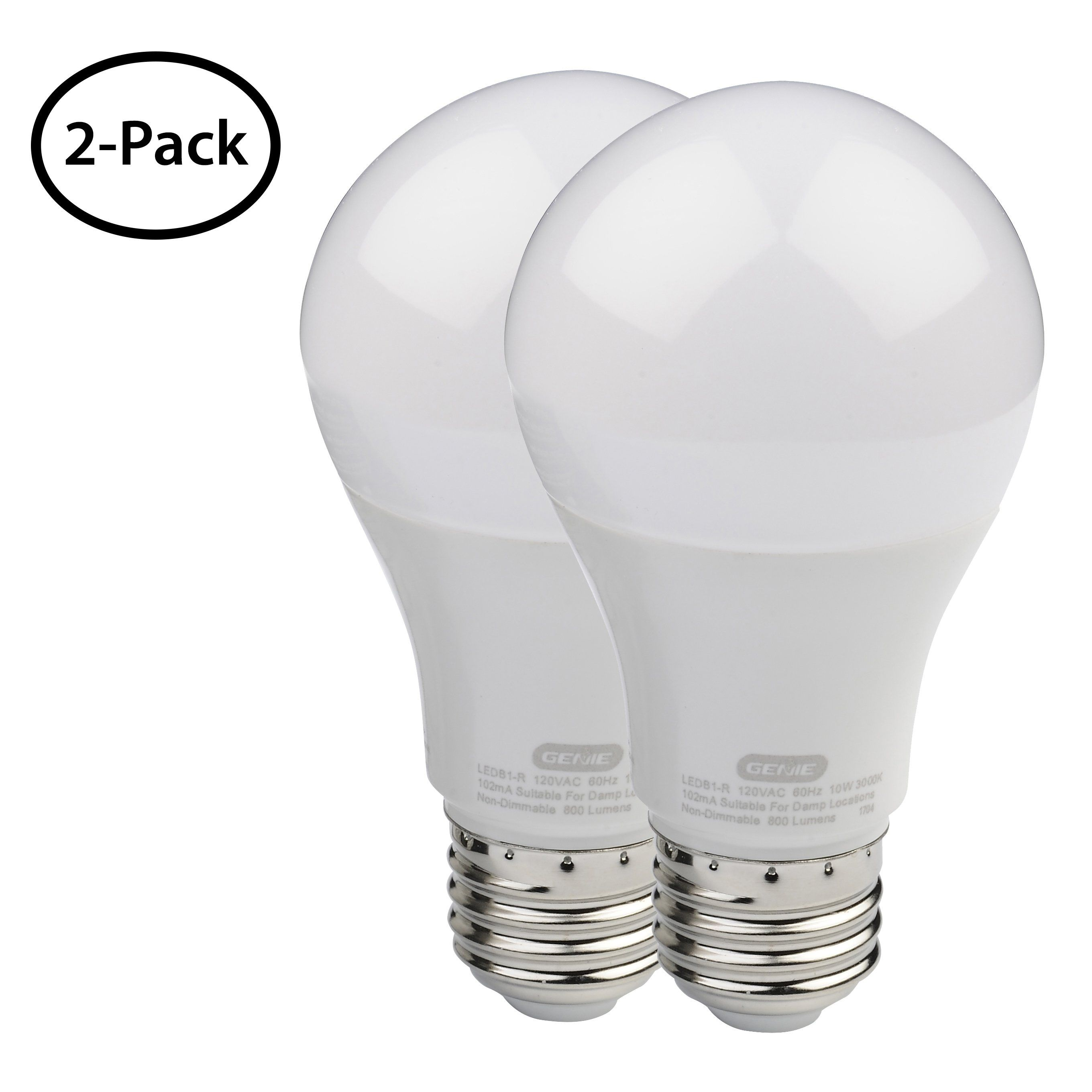 2 Pack Led Garage Door Opener Light Bulb Garage Door Opener