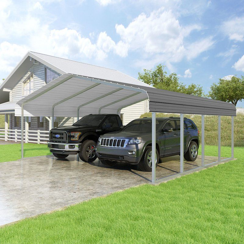 Classic 20 Ft. x 20 Ft. Canopy Steel carports, Canopy