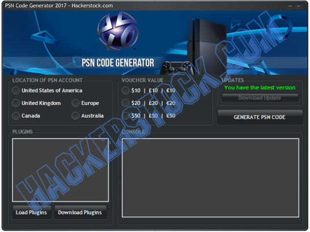 Latest PSN Code Generator 2017 No Survey Free Download http://www.hackerstock