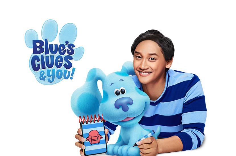 Everyone Is Invited To Play With Blue A Preschool Aged Puppy With A Clue Three Actually Each Day Blue Leaves Paw Prints On Blues Clues Blue S Clues Blues