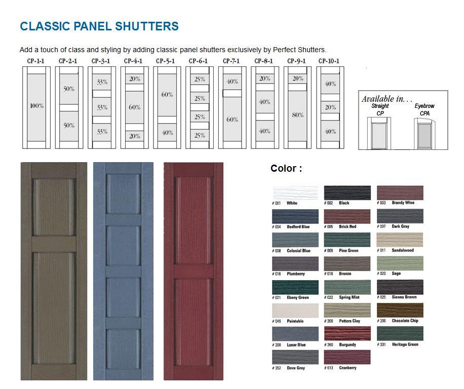 Window Shutters Exterior Vinyl Actual Widths Are 10 12 14 1 2 16 1 4 17 3 4 Respectively Exterior Vinyl Shutters Vinyl Shutters Window Shutters Exterior