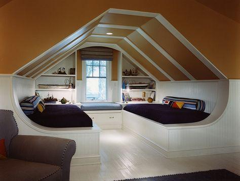 53+ Ideas Bedroom Attic Ideas Angled Ceilings Bonus Rooms ...