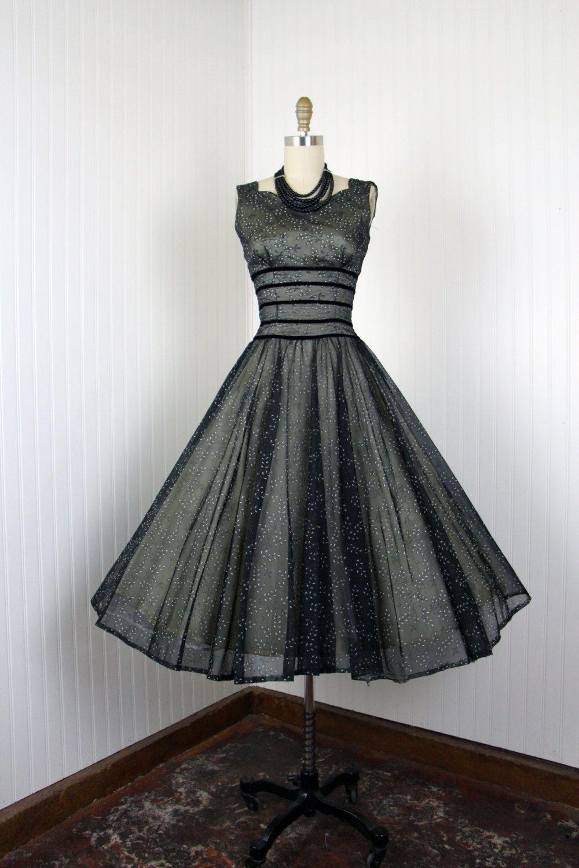 Vintage-Inspired Full Skirt Cocktail Dresses