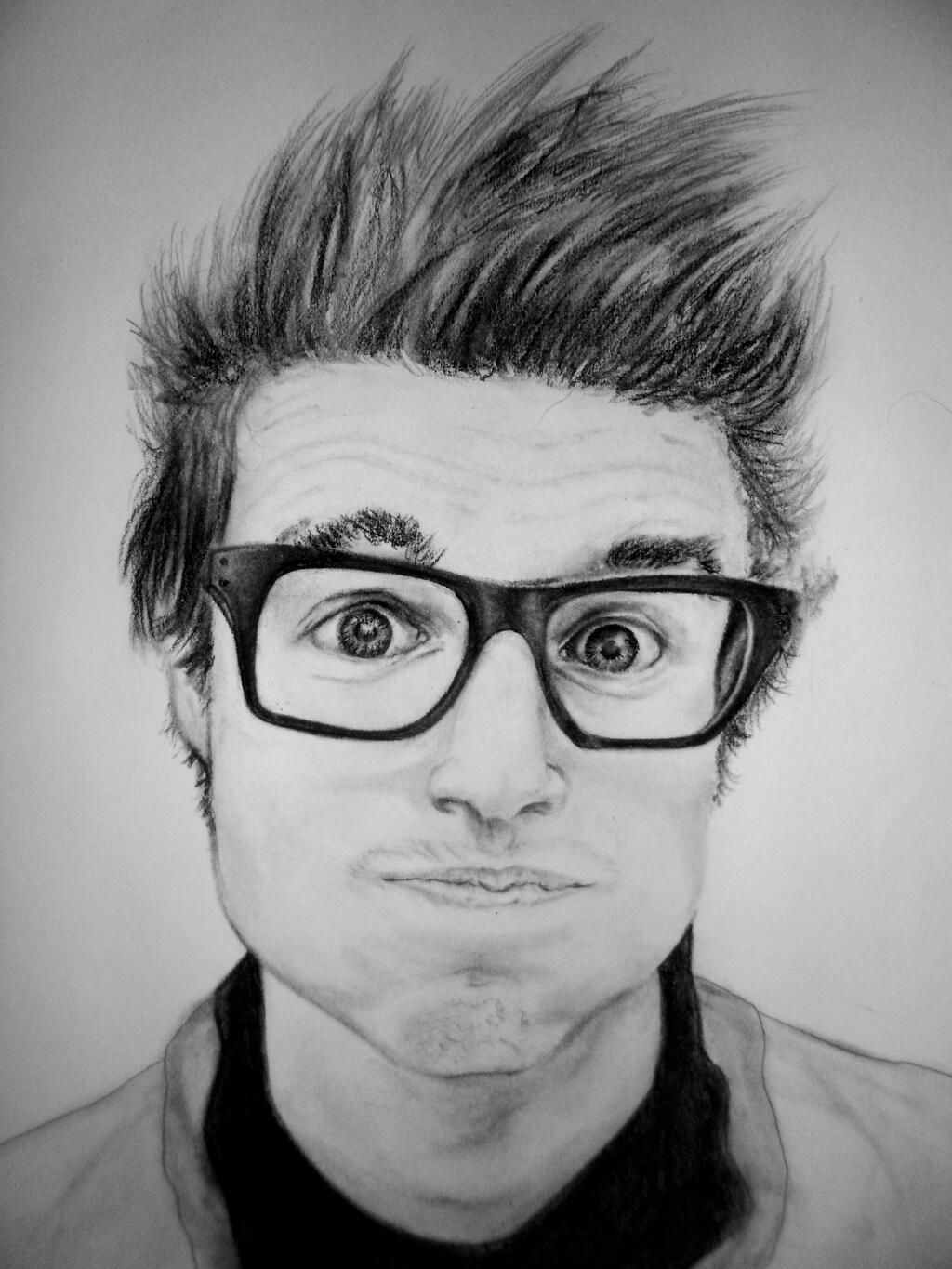 Found an old drawing I did looking on pinterest. Too cool! #pinterest #marcusbutler #drawing