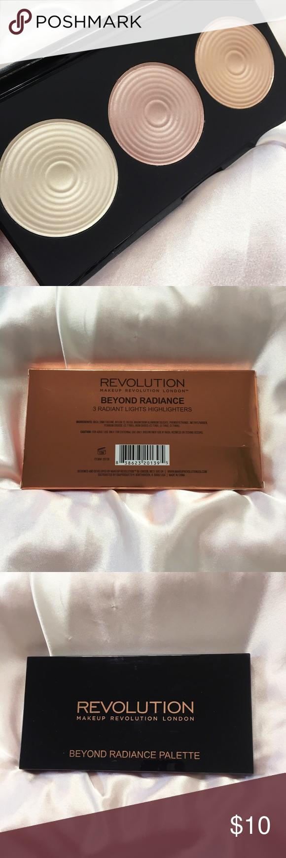 Makeup Revolution Beyond Radiance Highlighters Boutique