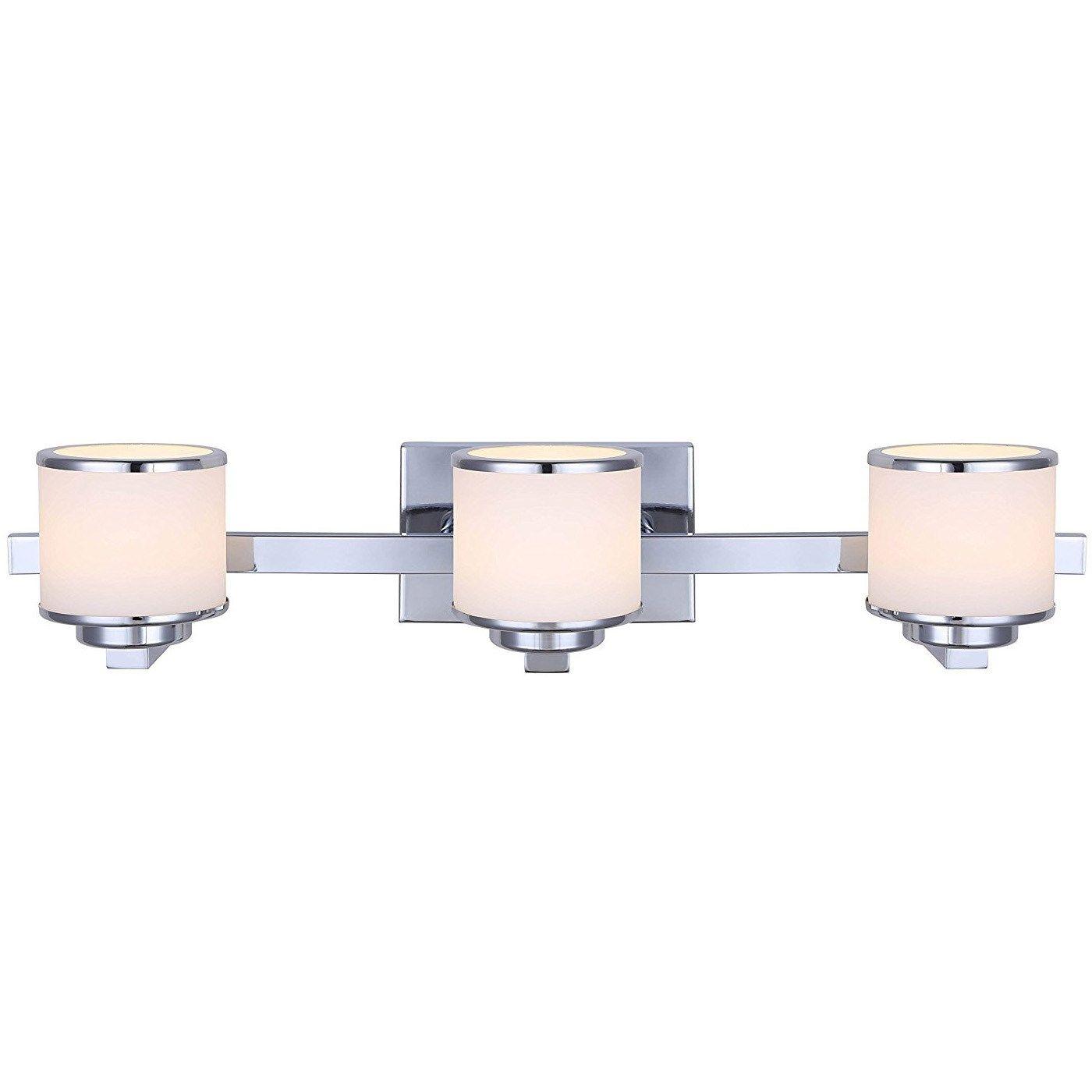 canarm lighting lvl106a03ch foster 3 light led vanity light in