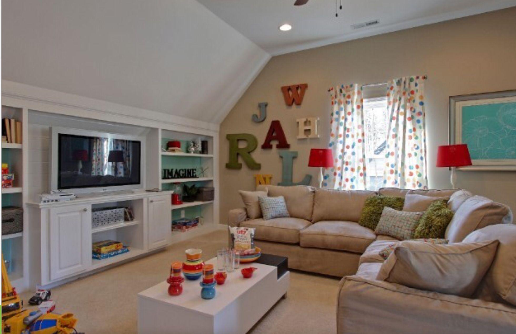 Bonus Room Ideas Above Garage Playroom