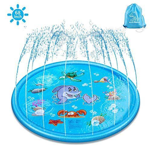 Arrosage Ext/érieure Gonflable Pad,Sprinkle Splash Play pour Les Enfants pour L/ét/é Tapis de Jet deau,Tapis de pulv/érisation deau