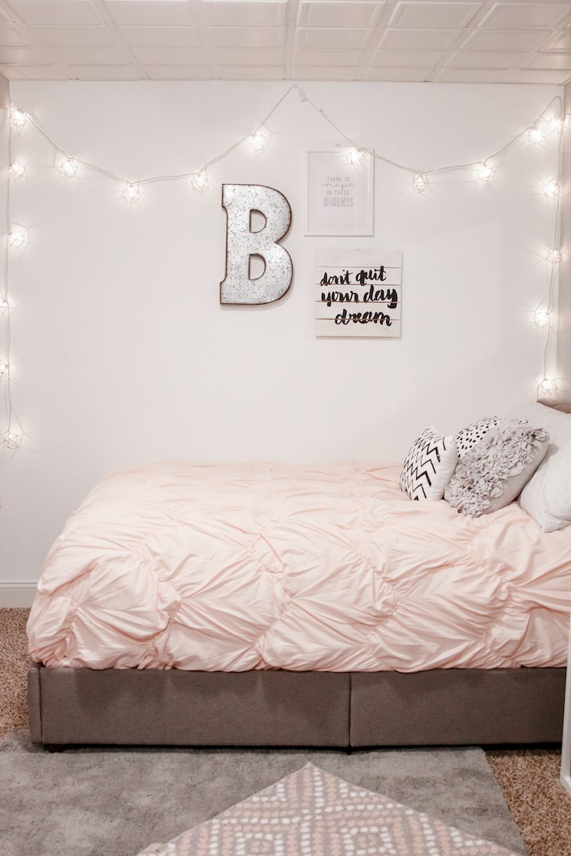 Decorating for a Teen Girl #inspirationalquotesforteens | Bedroom ...
