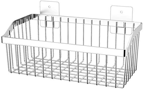 Amazon Com Kitchen Storage Metal Wire Fruit Basket Sus304 Stainless Steel Organizer Storage Bin Baskets For Bath Storage Kitchen Storage Pantry Organization